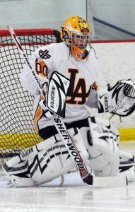 Sean O'Reilly playing in High School for Loyola Academy.
